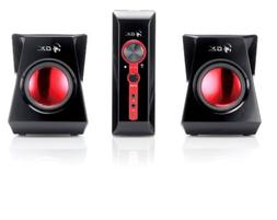 1 Genius 2 Speaker System Sw G2 1250 Volume Bass Computer La