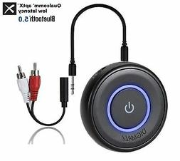 DIGMALL 2 in 1 Latest Bluetooth V5.0 Audio Transmitter Recei