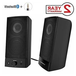Avantree Desktop Bluetooth PC Computer Speakers, Wireless &