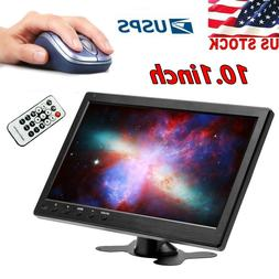 1080P CCTV LCD HD PC Monitor Screen Video Display AV/RCA/VGA