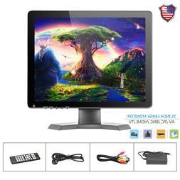 15 inch IPS LCD HD TV PC Monitor Display w/Speaker BNC/AV/VG