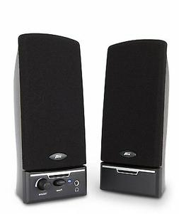 Cyber Acoustics 2.0 Amplified Speaker System Delivering Qual