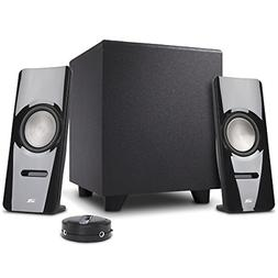Cyber Acoustics 2.1 desktop multimedia computer speakers, th