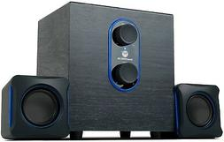 2 1 pc speakers system with subwoofer