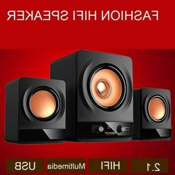 2.1 Speaker System with Subwoofer for MP3, PC, Game Console