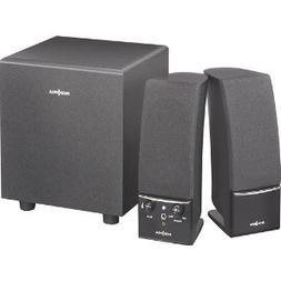 Insignia - 2.1 Speaker System  - Black