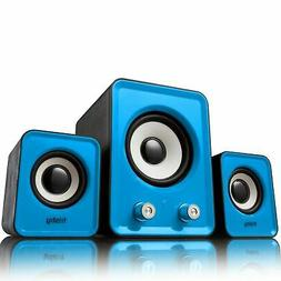 3 Wired 2.1 Speakers set for Dell Apple Toshiba Lenovo Asus