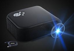 """2018 Projector,XINDA 170"""" Video Projectors 1080P Home Cinema"""