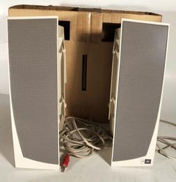 2PC JBL Pro Computers Speakers 304241-001 NIB