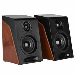 2PCS USB Powered Computer Stereo Speakers With Subwoofer Sys