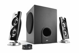 Cyber Acoustics 30 Watt Powered Speakers with Subwoofer for