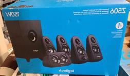 5.1 Surround Sound Speakers Logitech Music Computer Desktop