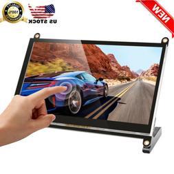 "7"" Touchscreen Monitor Screen 1024x600 HDMI Speakers Remote"