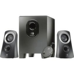 Logitech 980-000382 Z313 2.1 Speaker System - 25 W RMS - Bla