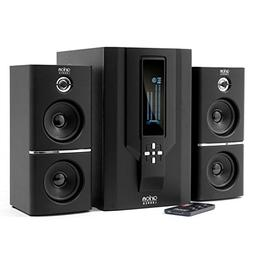 Arion Legacy AR504LR-BK 2.1 Speaker System with Subwoofer &