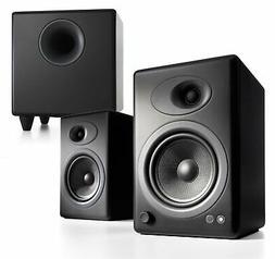 Audioengine A5+ Powered Speaker & S8 Subwoofer Bundle - Blac