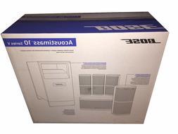 Bose Acoustimass 10 Series V Home Theater Speaker System, Bl