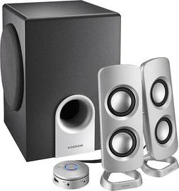Insignia™ - Powered Computer Speakers With Subwoofer
