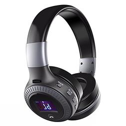 Over Ear Headphones, EIVOTOR Foldable Wireless Headset with