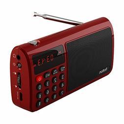 Rolton T50 Portable FM Stereo Radio Speaker Mp3 Music Player