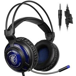 SADES New Arrival SA805 Wired Over-ear Stereo Gaming Headset