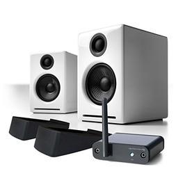 Audioengine A2+ Desktop Speaker Pair  w/ B1 BT Music Receive