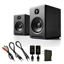 Audioengine A2+ Premium Powered Desktop Speakers  with W3 Wi
