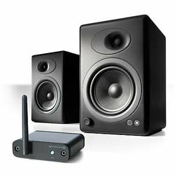 Audioengine A5+ Desktop Speaker Pair w/ B1 Bluetooth Music R