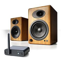 Audioengine A5+ Desktop Speaker Package  w/ B1 Bluetooth Mus