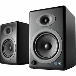 Audioengine A5+ Wireless Bookshelf Speakers. Stream Pandora,