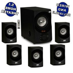 Acoustic Audio AA5171 Home Theater 5.1 Bluetooth Speaker Sys