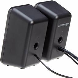 AmazonBasics Computer Speakers for Desktop or Laptop PC | AC