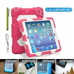 Aceguarder iPad Mini 1&2&3 Case Rainproof Shockproof Kids Pr