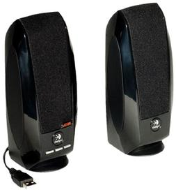 Logitech Audio USB Speaker with Digital Sound For Computer D