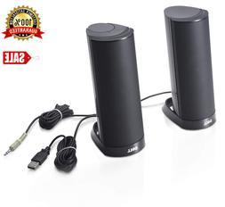 Dell AX210 Black USB Stereo Speaker System