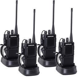 4pcs baofeng R-7 Two Way Radio Long Range UHF 400-470MHz Sig