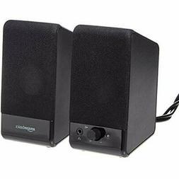 Basics Computer Speakers For Desktop Laptop PC USB-Powered C