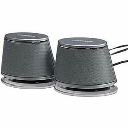 Basics USB-Powered PC Computer Speakers With Dynamic Sound S