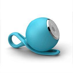 CARBAYSTAR Blue Waterproof Ball Shape Wireless Bluetooth, Ou