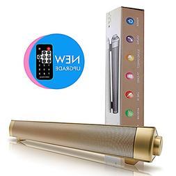 Bluetooth 4.0 Speaker, KeepMoving 5W Dual Subwoofer USB MP3