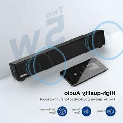 VIPEX Bluetooth PC Speakers Sound Bar 10W Powerful Stereo Mi