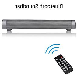 XBUTY Bluetooth Sound Bar Speaker, Wireless Ultra Stereo Spe