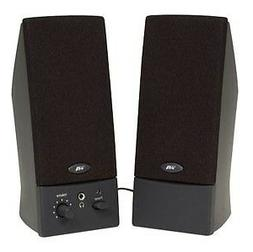 Cyber Acoustics CA-2016WB CYBER ACOUSTICS 2.0 SPEAKER SYSTEM