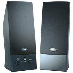 CYBER ACOUSTICS CA-2016WB OEM BLACK 2PC 3W SPEAKERS