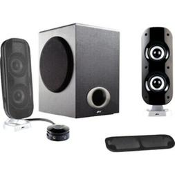 Cyber Acoustics Ca-3810 3Pc 38W Subwoofer Powered Pc Speaker