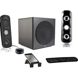 Cyber Acoustics Ca-3908 3Pc 46W Subwoofer High Powered Pc Sp
