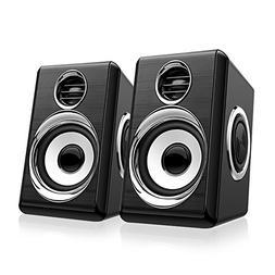 Computer Speakers BeBomBasics SP10S USB Multimedia Audio for