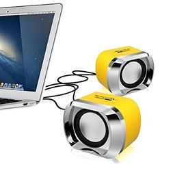 Computer Speakers BeBomBasics SP20 USB Powered Multimedia Sm