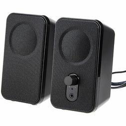 AmazonBasics Computer Speakers for Desktop or Laptop PC   AC
