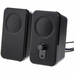 Computer Speakers for Desktop or Laptop PC | AC-Powered